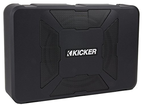 KICKER 11HS8 8″ 150W Hideaway Car Audio Powered Subwoofer Sub Enclosure+Adapter