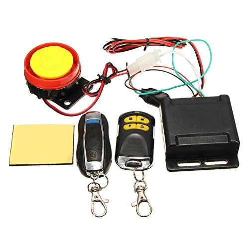 Motorcycle Alarm Remote car alarm security system, Ocamo Scooter Car High Power Siren Security Alarm System Remote Control 12V Anti-theft Motorcycle Bike