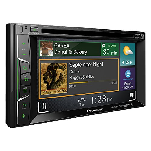 Pioneer AVH-1330NEX 6.2″ DVD Receiver with Apple CarPlay, Bluetooth and HD Radio