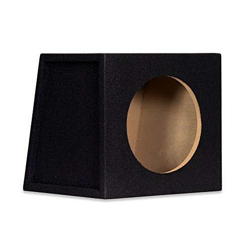 New Single Car Black Subwoofer Box Sealed Automotive Enclosure for 10″ Woofer 10S