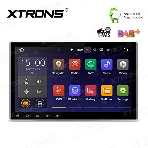 XTRONS Double 2 Din 10.1″ Android 6.0 HD Digital Capacitive Touch Screen Car Stereo Radio GPS Bluetooth 1080P Screen Mirroring OBD2
