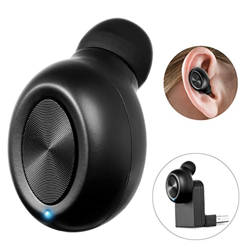 Bluetooth Earbud Earphone Wireless Headphone,SOONHUA Car Headset Mini Invisible with HD Mic for iPhone and Android Smart Phones