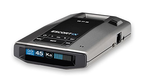 Escort iX Long Range Radar Laser Detector, Black