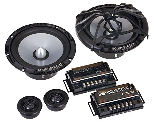 Soundstream PC.6 6.5″ 120W 2-Way Picasso Series Car Component Speaker Set