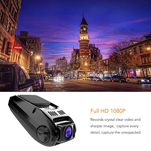 APEMAN Dash Cam FHD 1080p 170 Wide Angle Dual Dash Camera with G-Sensor, WDR, Loop Recording, 6G Lens, Motion Detection etc