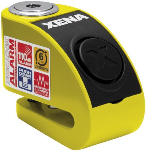 Xena XZZ6L Alarm Disc Lock – Yellow