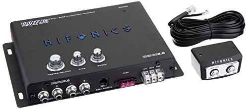 Hifonics BXIPRO2.0 Digital Bass Enhancement Processor with Noise Reduction Circuit