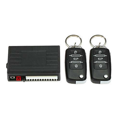 KKmoon Car Door Lock Keyless Entry System Remote Central Locking Kit for VW LUPO POLO