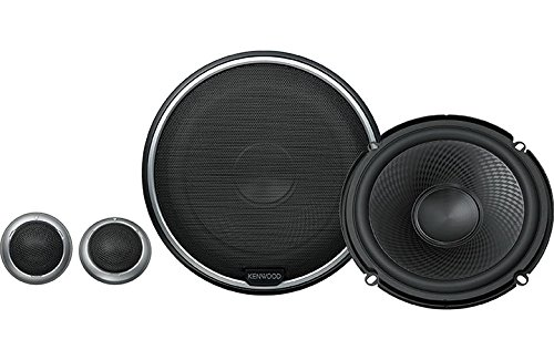 Kenwood KFC-P710PS 280 Watts Performance Series 6-1/2″ Component Speakers