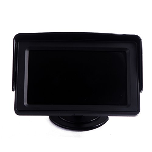 HDE 4.3″ LCD Car Dashboard Color Monitor for Rearview Vehicle Backup Parking Cameras