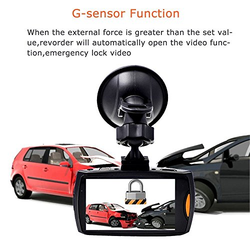 Dash Cam, Aosmart Full HD 1080P DVR Dash Camera 120 Degree Wide Angle with Night Vision Car Dashboard Camcorder for Vehicle