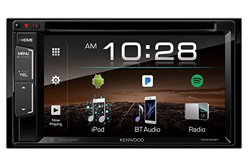 Kenwood DDX25BT 6.2″ 2-Din In-Dash DVD Monitor Bluetooth Receiver Sirius/MP3/WMA