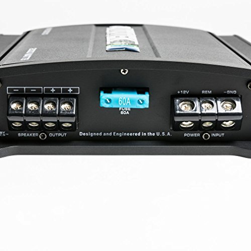 Autotek MM2020.1D Mean Machine 2000W Mono Amplifier 1-Ohm Stable Car Audio Amp