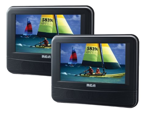 RCA DRC69705 7-Inch Dual Screen Mobile DVD System (Certified Refurbished)