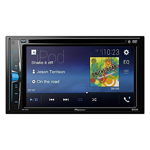 Pioneer AVH-201EX 6.2″ Multimedia DVD Receiver with Bluetooth