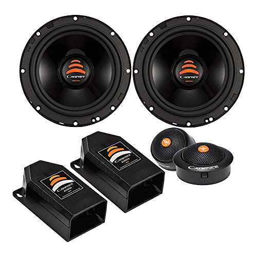 Cadence XS65K 500W 6.5″ 2-Way Xenith Series Component Car Speakers
