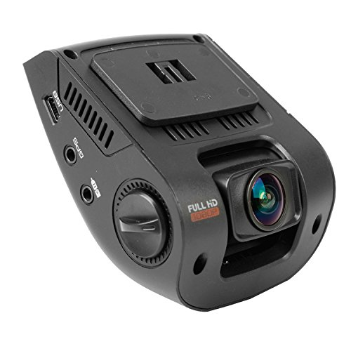 Rexing V1 Car Dash Cam 2.4″ LCD FHD 1080p 170 Degree Wide Angle Dashboard Camera Recorder with Sony Exmor Video Sensor, G-Sensor, WDR, Loop Recording