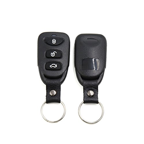 uxcell Black Car Remote Central Kit Door Lock Locking Keyless Entry System w/ Trunk Pop Release