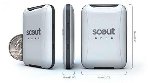 Scout V2 Universal Vehicle GPS Tracker – Anti-theft W/ Real Time GPS Location And Movement Alerts W/ FREE Hardwire Kit