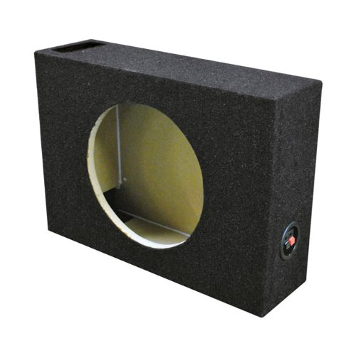 Qpower Single 10″ Shallow Vented Woofer Box