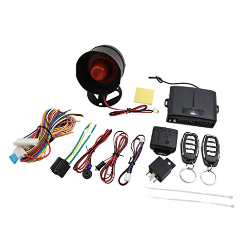 uxcell Car Alarm Security System Manual Reset Button Function Burglar Alarm Protection