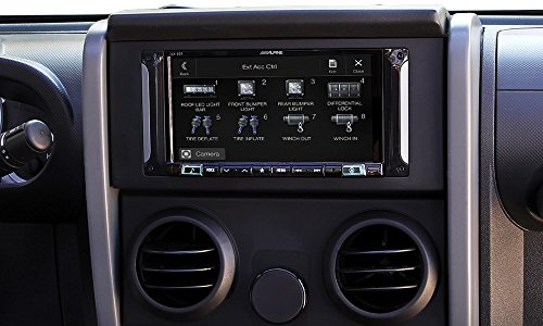 Alpine Electronics i207-WRA 7″ Mech-Less Restyle Dash System with Apple Car Play & Android Auto for Jeep Wrangler (2007-2017)