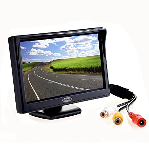 """5"""" Inch Digital TFT LCD Color Car Rear View Monitor Screen for Parking Backup Camera ,Support all the car with 12V/24V Power,High Definition 800(RGB)X480 Pixel"""
