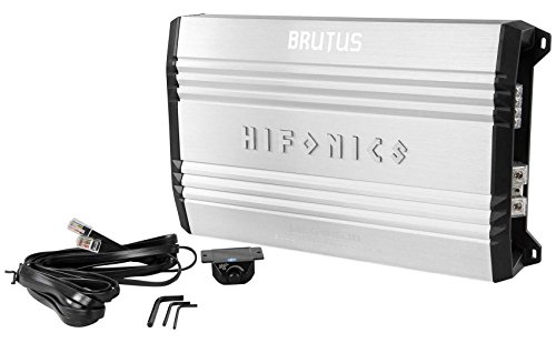 New Hifonics Brutus BRX2016.1D 2000W RMS Mono Car Amplifier+Amp Kit+Capacitor