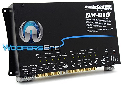 AudioControl DM-810 8 By 10 Channel Matrix Digital Signal Processor