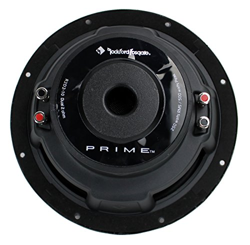 2) New ROCKFORD FOSGATE R2D2-10 1000W 10″ 2-Ohm Car Audio Subwoofers Subs R2D210