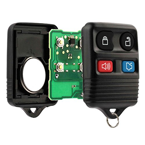 Car Key Fob Keyless Entry Remote fits Ford, Lincoln, Mercury, Mazda Mustang (CWTWB1U345)