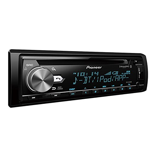 Pioneer DEH-S6010BS CD Receiver with Built in Bluetooth, USB, Aux Input, SiriusXM Ready