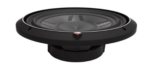 Rockford Fosgate P3SD4-12 P3 Punch Shallow Mount 12-Inch DVC 4-Ohm Subwoofer