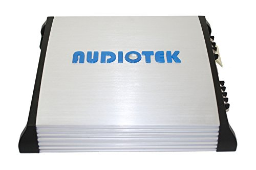 AUDIOTEK AT820S 2 CHANNELS CLASS AB 2 OHM STABLE 1500W STEREO POWER CAR AMPLIFIER W/ BASS CONTROL