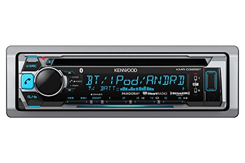 kenwood KMRD365BT Marine CD Single DIN In-Dash Bluetooth Car Stereo Receiver